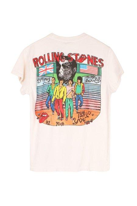 MadeWorn Rolling Stones Crew Tee - Off White