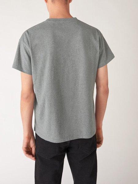 Jeanerica Marcel 180 classic tee - light grey melange