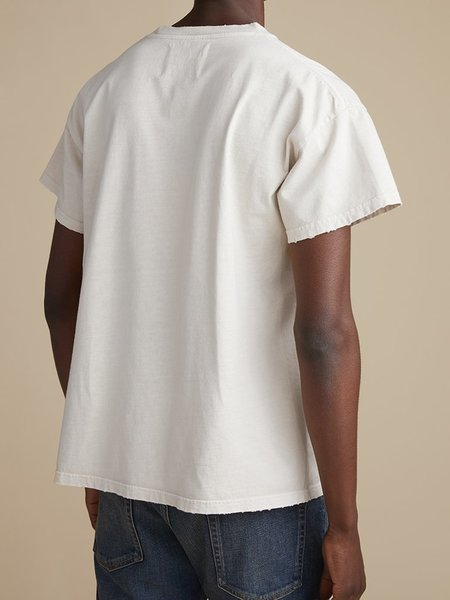 Jeanerica Marcel 200 distressed tee - putty
