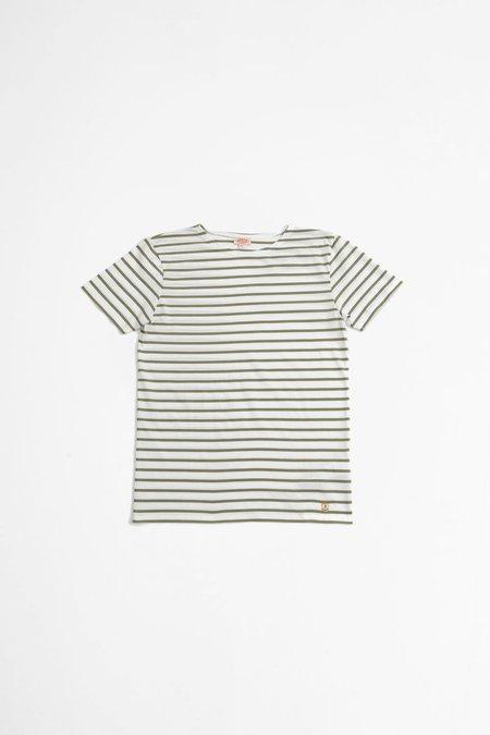 Armor Lux Sailor t-shirt - Hoedic white/fernkhaki