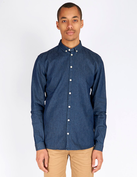 Minimum Barden Shirt Dark Blue