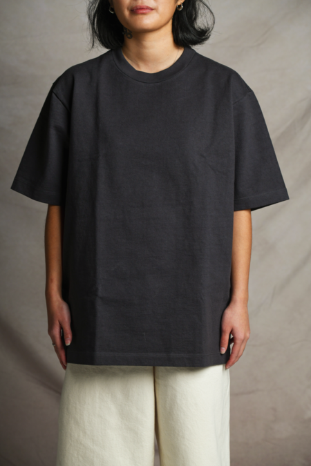 Lady White Co. Rugby Tee - Tire Black
