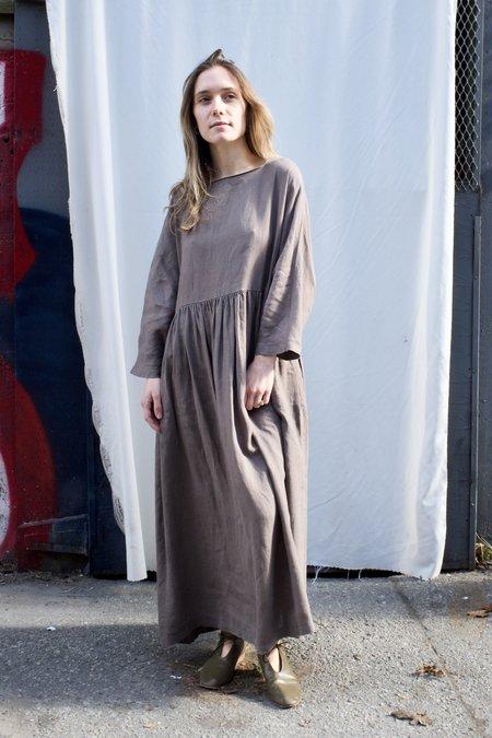 Black Crane Tradi Dress - Gray