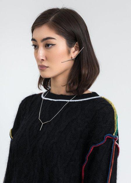 Y/project Mini Y Necklace - Silver