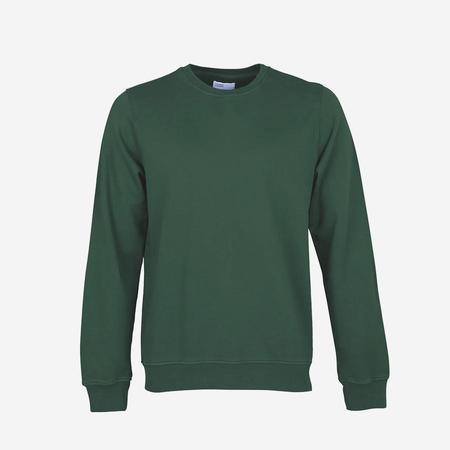 v Classic Organic Crew Sweatshirt - Emerald Green
