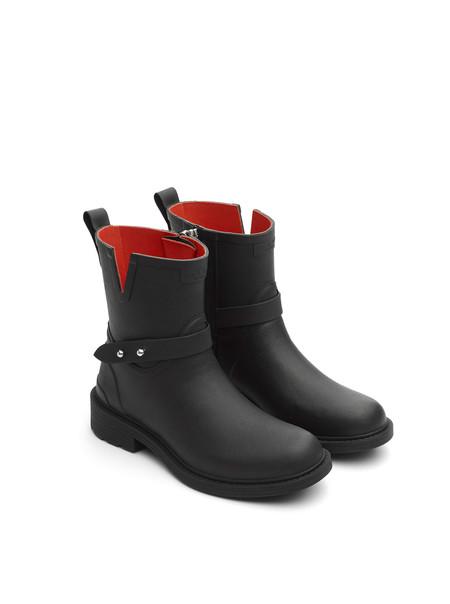 Rag & Bone Rubber Moto Rain Boot - Black