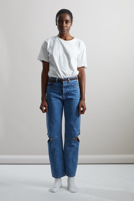 Still Here New York Cowgirl Jean - Classic Blue
