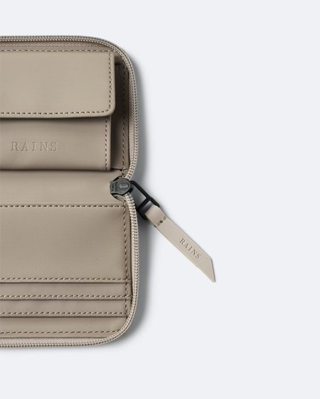 Unisex Cartera Small Wallet - Taupe