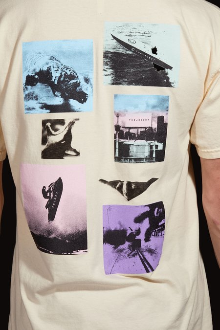 The Celect Speed Word T-Shirt - ivory