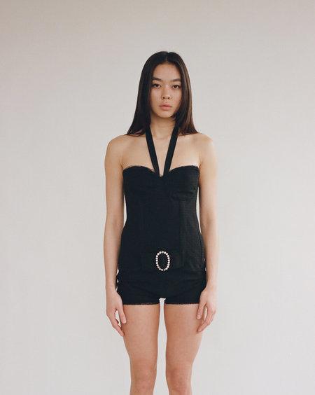 Sydney Pimbley Roxanne Corset - Black
