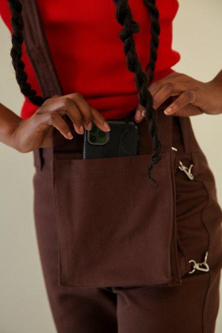 KkCo The Bag Twill Pant - Mud