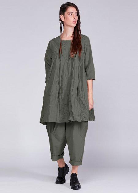 Baci Trapeze Dress - Grey