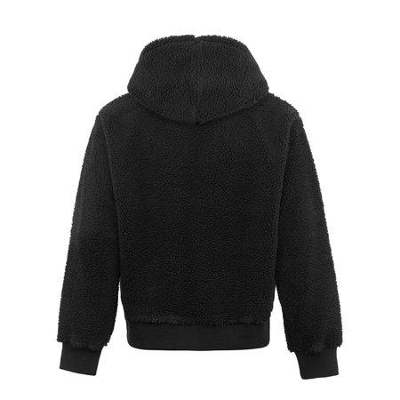 Stussy Sherpa Zip Hoodie - Black