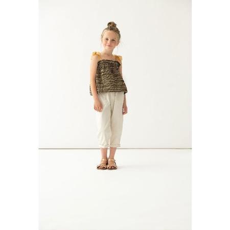 kids paade mode cotton pants - dale white