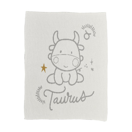 kids moon babe blankets Taurus Babe Blanket - ivory/light grey/ochre