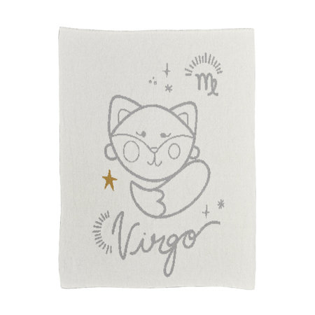 kids moon babe blankets Virgo Babe Blanket - ivory/light grey/ochre