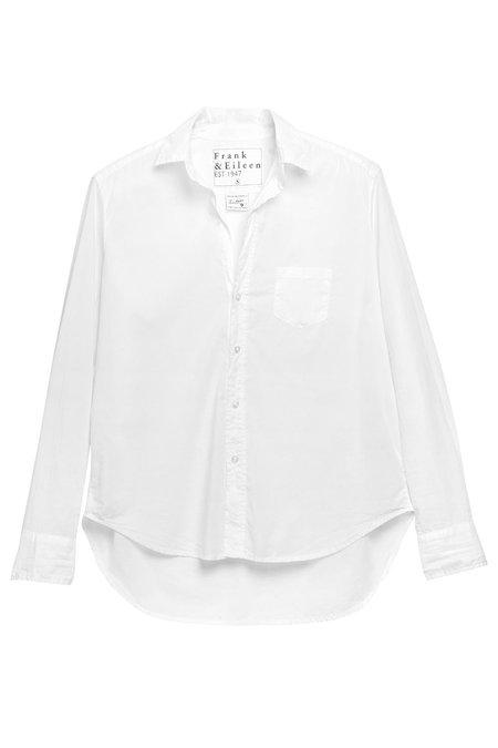 Frank & Eileen Eileen Button Down shirt - White Light Poplin