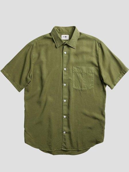 NN07 Errico Shirt - Leaf Green