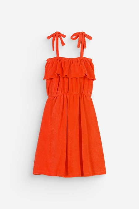 Kids We Are Kids Raphaelle Dress - Shiny Coral