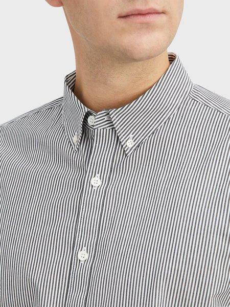 O.N.S Fulton Microstripe Shirt - Black/White