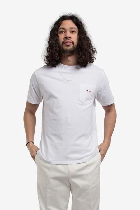 Maison Kitsuné Tricolor Fox Patch T-Shirt