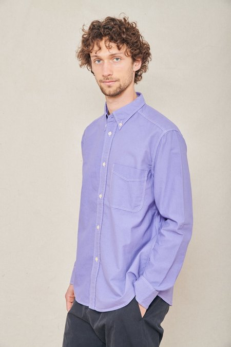 A Kind of Guise Seaton Button Down Shirt - WASHED LAVENDER