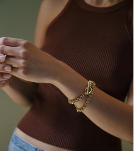 Vermeer Studio sebastian bracelet - Gold