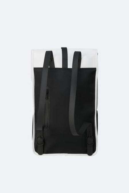 Unisex Rains Backpack Mini - Off White