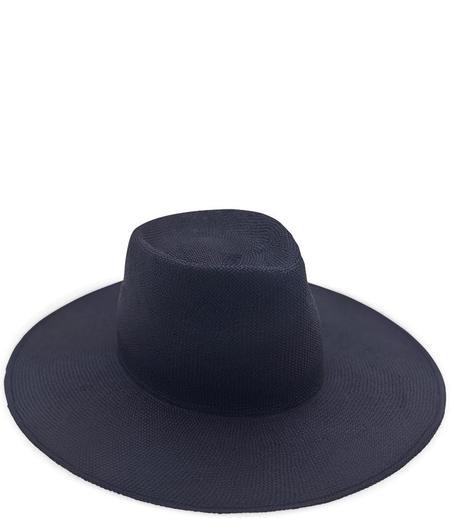 Reinhard Plank Nana Big Viscose Hat - Navy