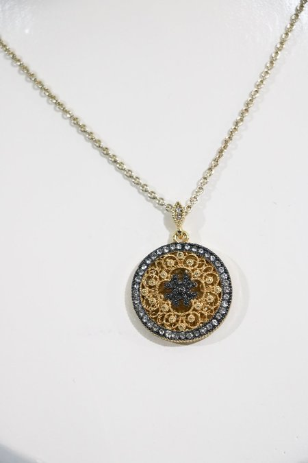 Pre-loved Pendant Necklace - Gold