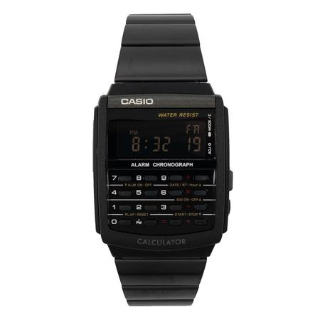 CASIO VINTAGE CALCULATOR WATCH CA506B-1A - BLACK