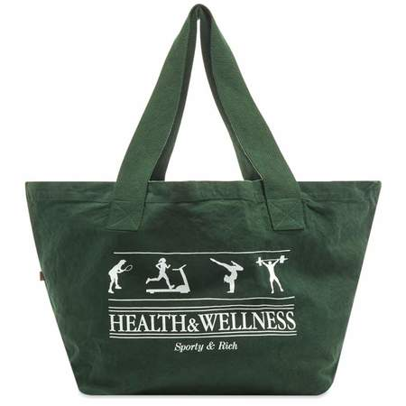 Sporty & Rich Health & Wellness Tote - Forest