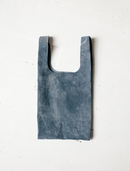 Niuhans Pigskin Suede Shopper Mini Bag