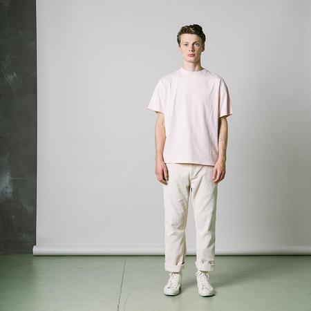 Kestin Fly Crew Neck Jersey T-Shirt - Dusty Pink