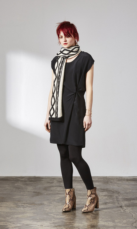 H. Fredriksson W 15 Black Twist Dress