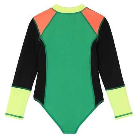 Kids Stella McCartney Colourblocked Scuba Swimsuit - Multicolour