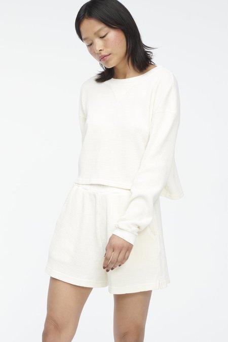 Lacausa Dakota Shorts - Oatmilk