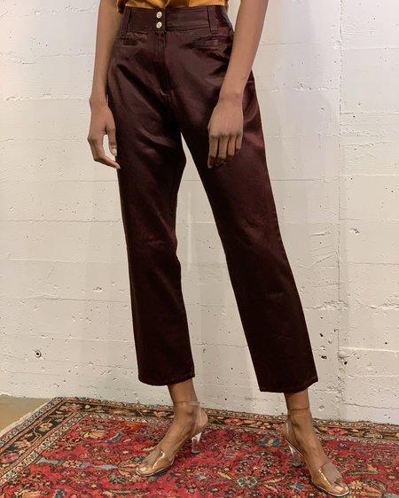 Vintage Baby Flare Pants - Walnut