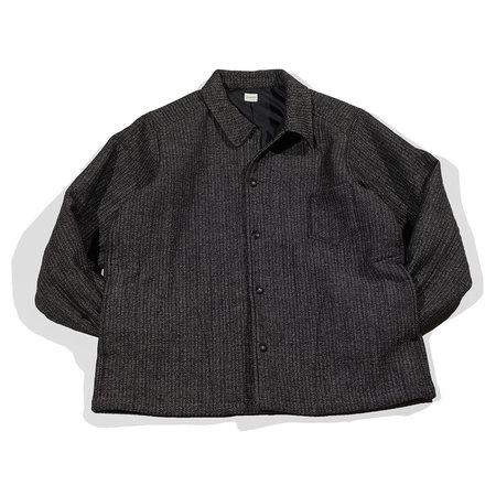 Unisex Chimala Jacquard Shirt Jacket - Black