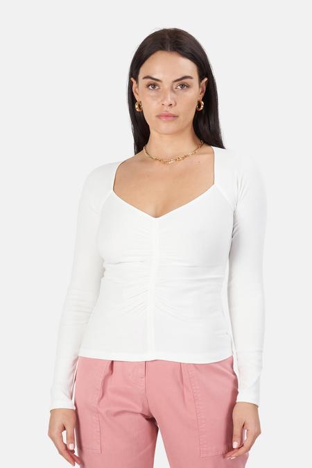 A.L.C. A.L.C Halley T-Shirt - White