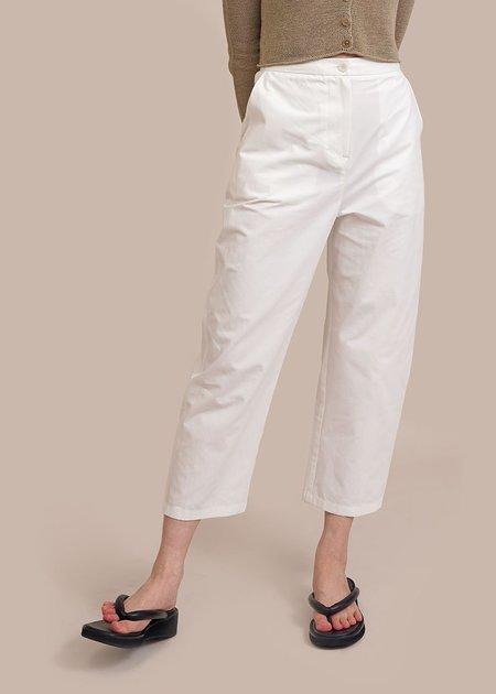 AMOMENTO Square Pocket Pants - White
