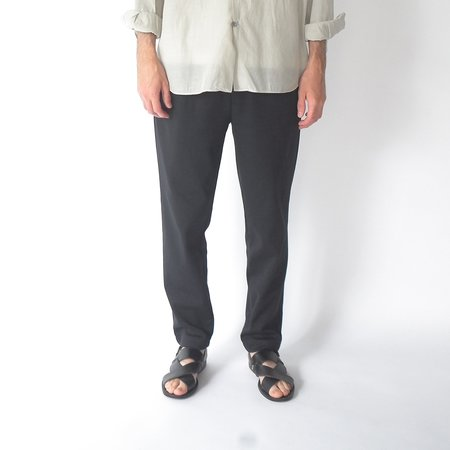Still By Hand Relaxed jersey pants - black