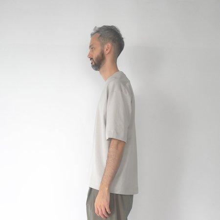 Still By Hand Yoke seam t-shirt - grey
