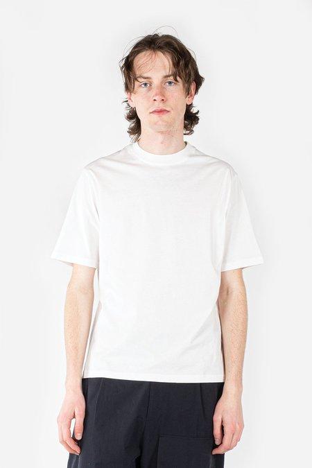 Studio Nicholson Bric Logo T-Shirt - Optic White