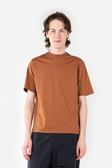 Studio Nicholson Bric Logo T-Shirt - Truffle