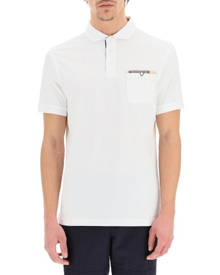 Barbour Cotton Polo Shirt - White