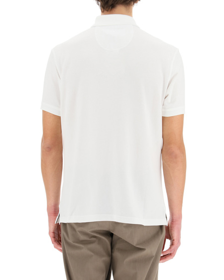 Barbour logo Polo Shirt - White