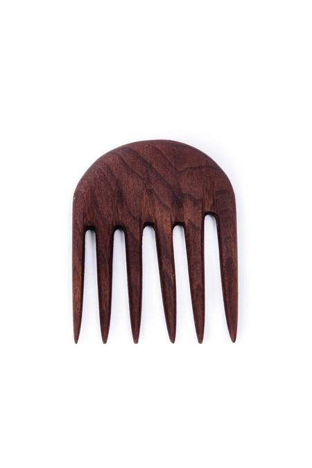 CAINNON Walnut Half Moon Comb