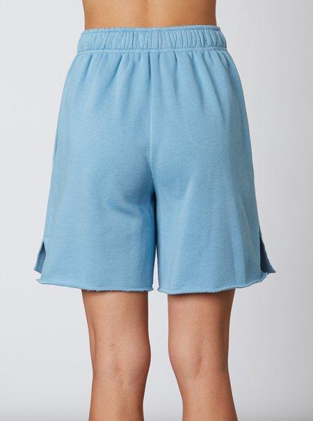 NIA Sweat Short - Pacific Blue