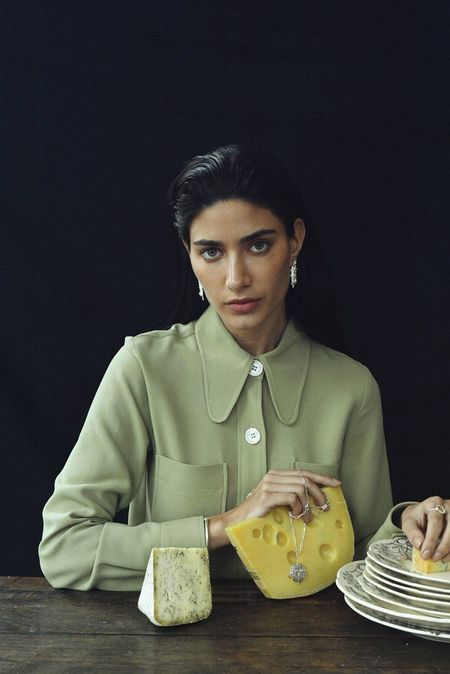 Cleopatra's Bling Uslane earrings - Gold